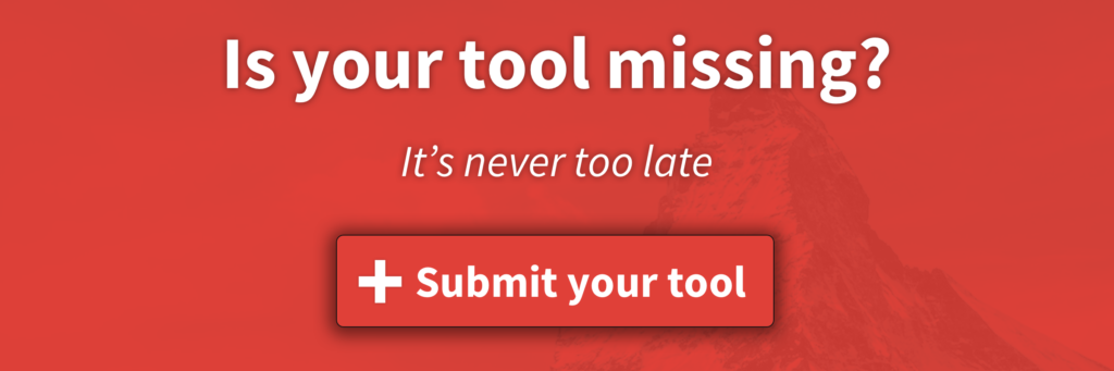 Swiss Martech - Submit your tool